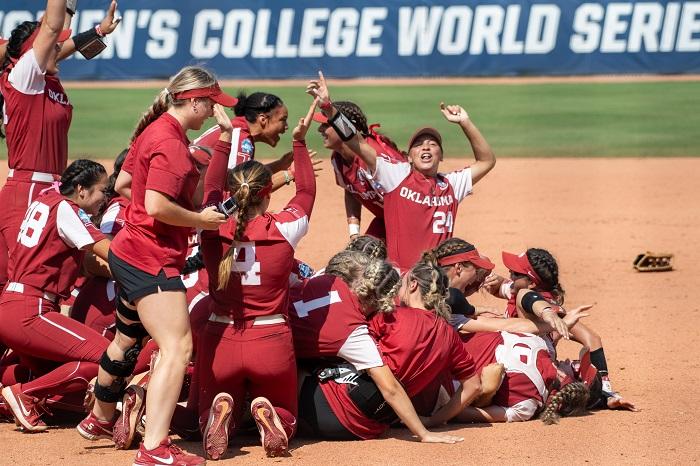 NCAA Softball: Women's College World Series-Florida State vs Oklahoma