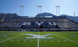 NCAA Football: Southern California at Brigham Young