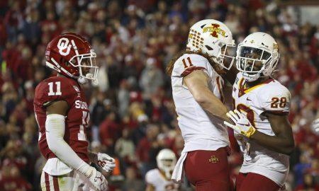 NCAA Football: Iowa State at Oklahoma