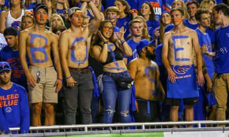 NCAA Football: Marshall at Boise State