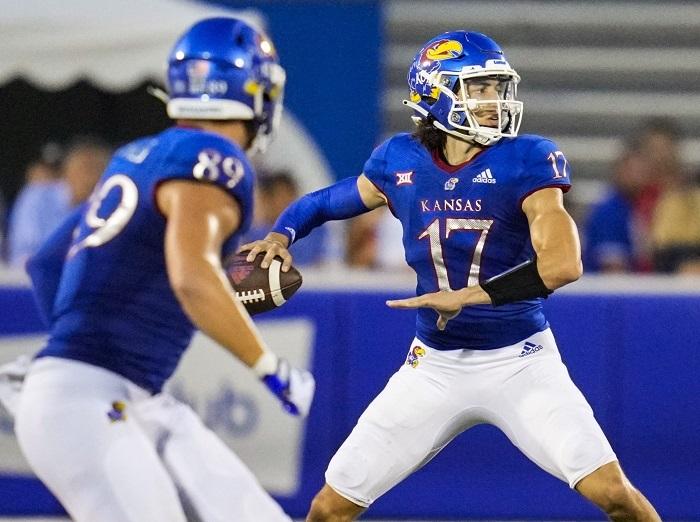 NCAA Football: South Dakota at Kansas
